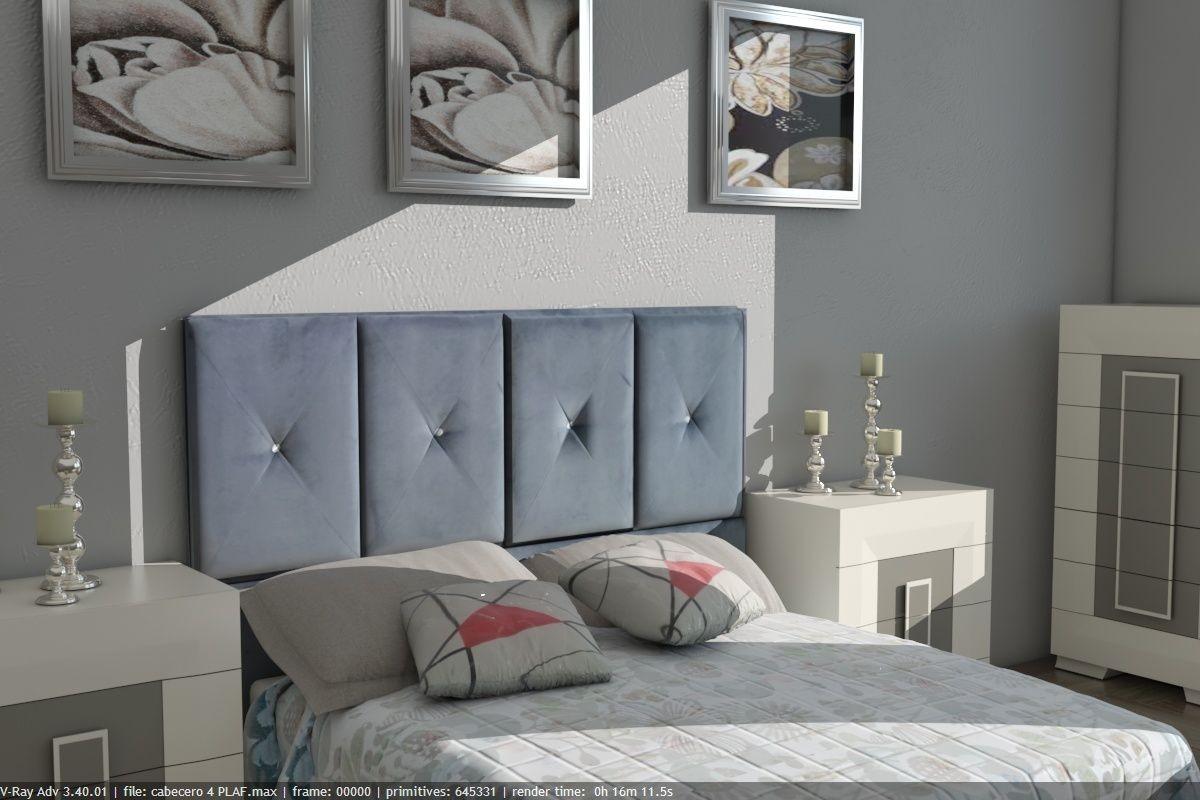 Cabecero tapizado modelo Zara