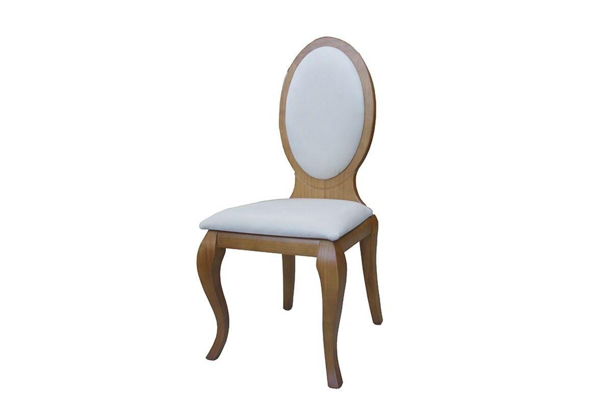 silla isabelina de madera modelo Lisboa tinte