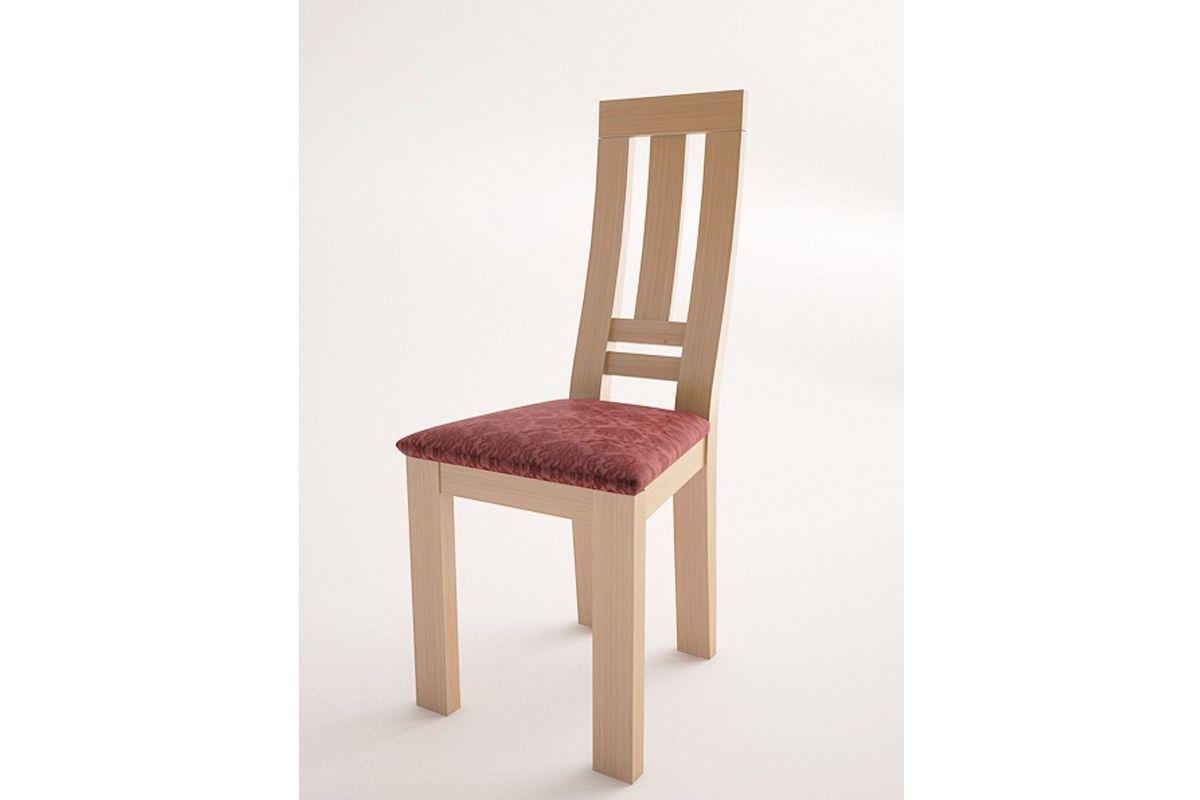 silla moderna de madera modelo lucia tinte