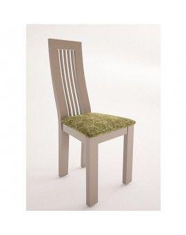 silla moderna de madera modelo Viena lacada
