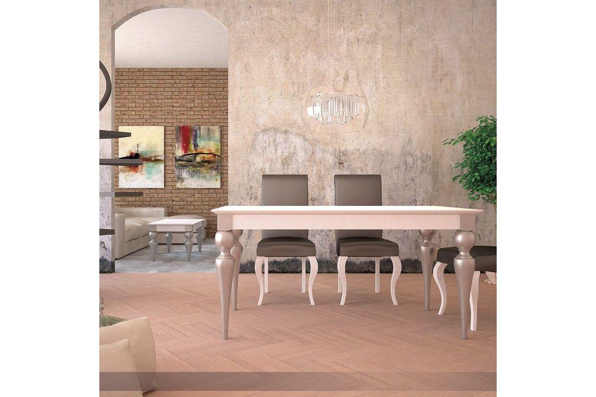 mesa clasica de madera modelo Arisa