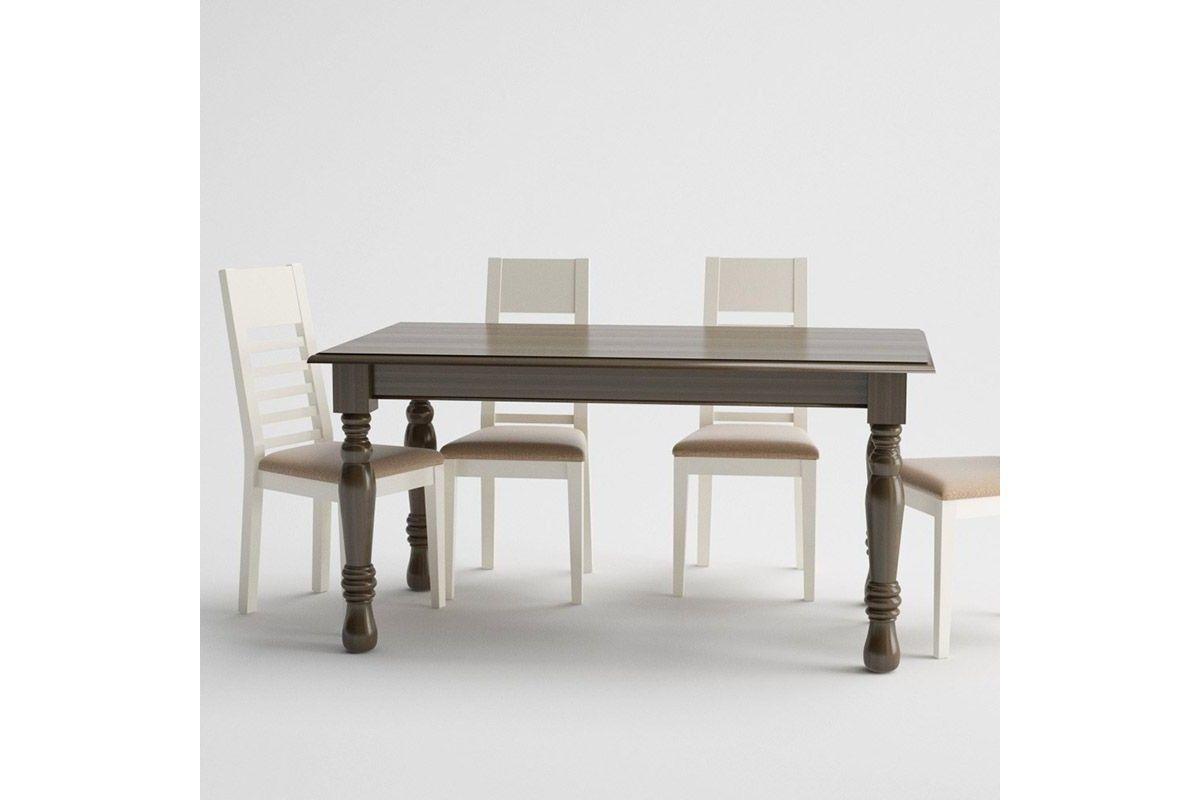 Mesas de comedor rectangulares clasicas de madera. Madmu.es