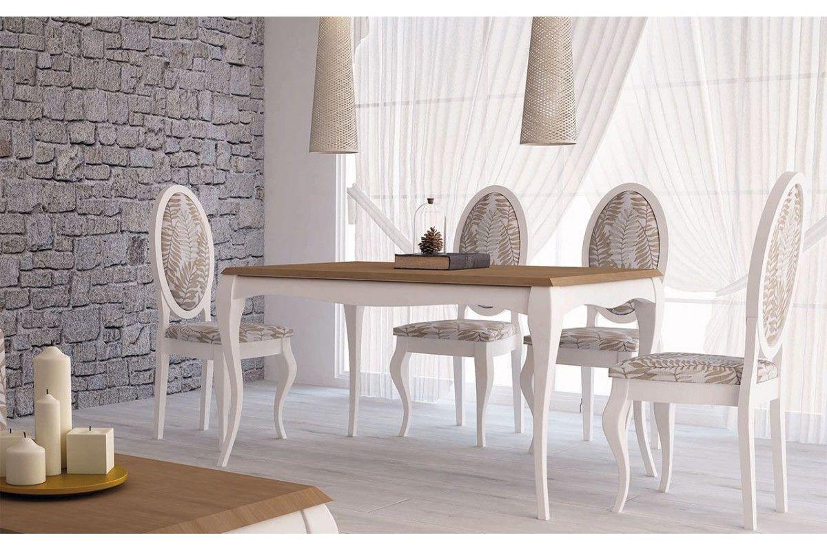 Mesas Versalles isabelinas modernas de madera. Madmu.es