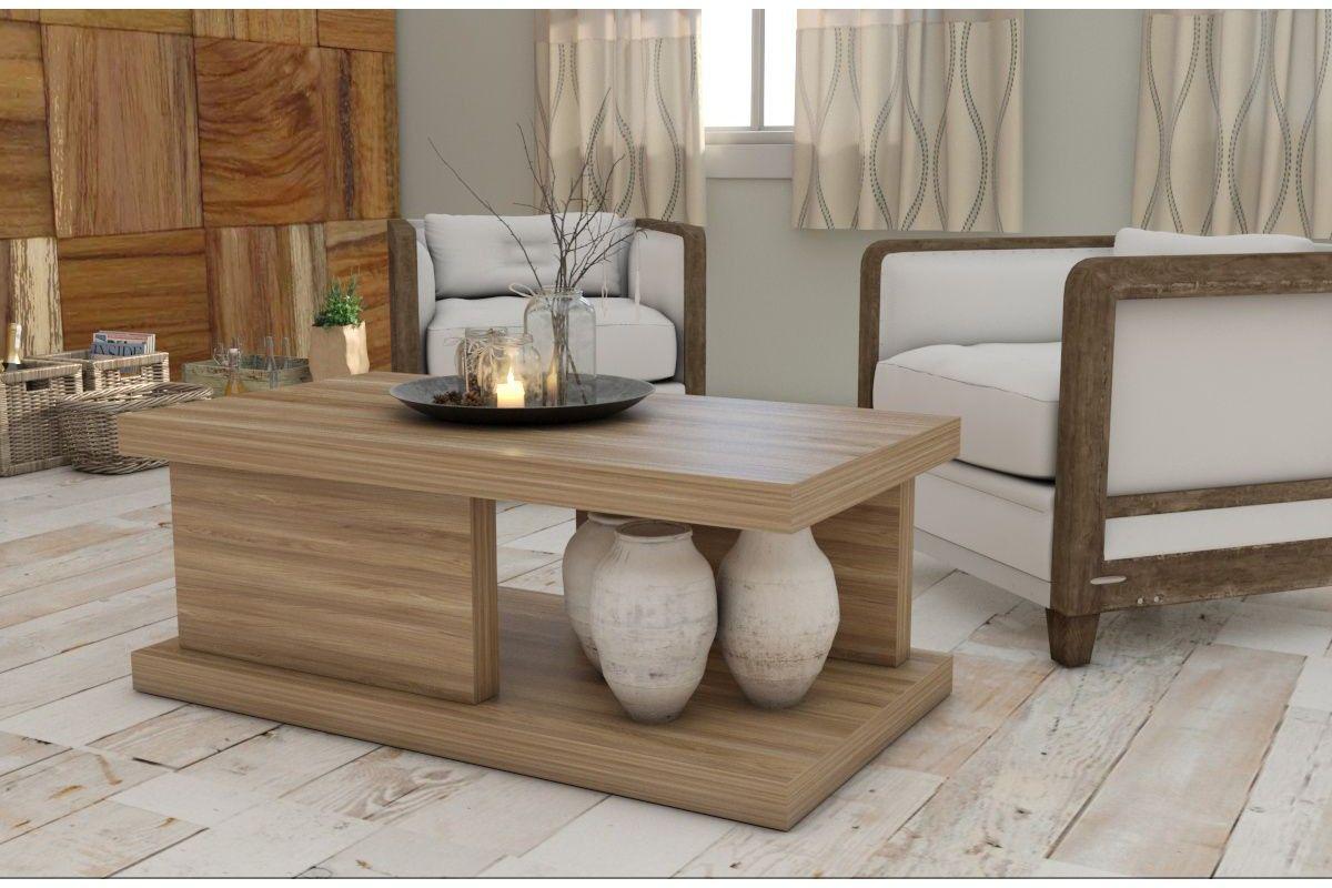 Mesa de centro de madera modelo Bahia.