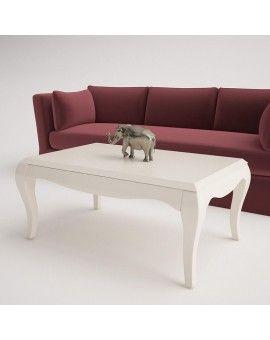 Mesa de centro isabelina de madera modelo Soria.