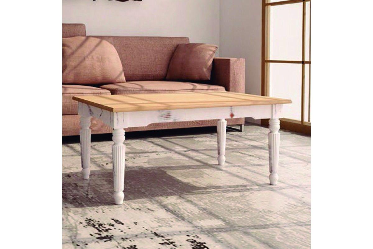 Mesa de centro de madera vintage modelo Clasic.