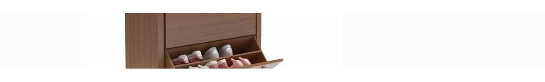 Zapateros de madera de diversos tipos y medidas personalizables.